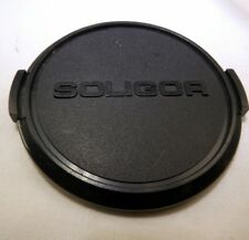 Soligor 62mm Front Lens Cap Metal Snap on type