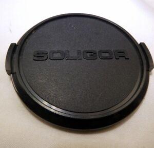 Soligor 62mm Avant Lentille Casquette Métal Snap On Type