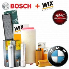 Kit tagliando 4 FILTRI BMW 318D 320D E46 85 100 KW