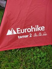 RED FLY SHEET - Eurohike Tamar 2 - replacement spare repair