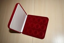 Box for 12 coins in capsule 46 mm (for coins in 3 rubles). NEW