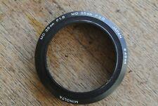 Minolta MD 35mm 1:1.8 & 1:2.8 lens hood.49mm NICE