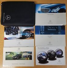 GENUINE MERCEDES W203 C-CLASS OWNERS MANUAL HANDBOOK WALLET 2004-2007 # G-252 !