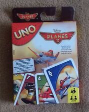 Card Game - Disney Pixar PLANES 2  UNO - Mattel Games - New