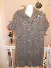 George Sleeveless Chunky, Cable Knit Women's Jumpers & Cardigans