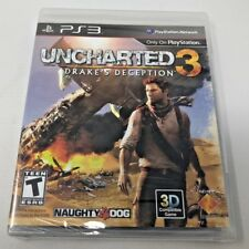 Uncharted 3: Drake's Deception PS3 Playstation 3 - BRAND NEW / SEALED -