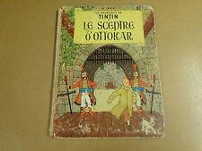 BD HC RE 1960 / TINTIN - LE SCEPTRE D'OTTOKAR