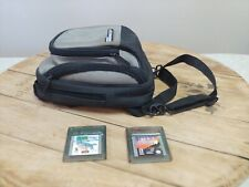 Gameboy Color Game Lot 102 Dalmations/ Dragon Wings w/Gameboy Adv Sp Case