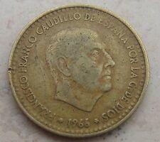 1 Peseta di Spagna 1966 / 69  Franciso Franco Cautillo - BELLA!  n. 926