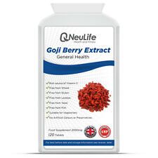 Goji Berry Extract - 2000mg - 120 Tablets