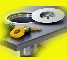 Wesco Ergomaster Mülleimer Einbau in Arbeitsplatte 5 L Kunststoff
