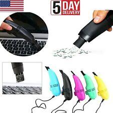 New Computer USB Keyboard PC Laptop Vacuum Cleaner Mini Brush Dust Cleaning Kit