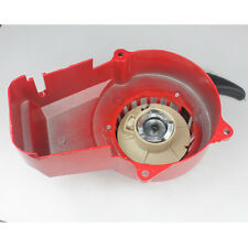 RECOIL PULL STARTER 47CC 49CC POCKET BIKE ATV POCKET QUAD Red