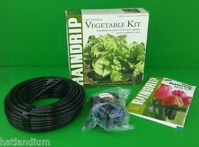 "RAINDRIP VEGETABLE WATERING DRIP KIT R562D 75' 1/4"" HOSE 25 1/2GPH DRIPPERS USA"