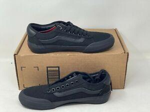 Vans Style 112 Pro Black Black Skateboarding Shoes Mens Size 7 NWOB