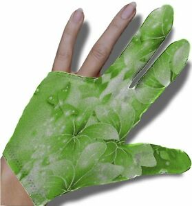 Green Butterfly Billiard Glove