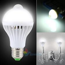 9W E27 PIR Infrared Motion Sensor Light Bulb Smart Auto LED Energy Saving Lamp