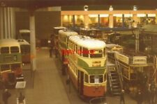 PHOTO  1994 GLASGOW MUSEUM OF TRANSPORT WELL LAID OUT LOTS OF EXHIBITS BUT STILL