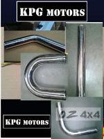 UNIVERSAL FULL Aluminum TUBE intercooler intake PIPE - 2INCH