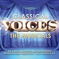 CLASSICAL VOICES - THE MUSICALS 2 CD NEU PAUL POTTS/IL DIVO/SUSAN BOYLE