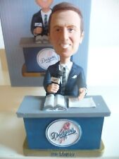 Vin Scully Bobblehead Los Angeles Dodgers Bobblehead La Bobble With Game Ticket