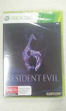 Resident Evil 6 XBOX 360 Autralian PAL Version New and Sealed