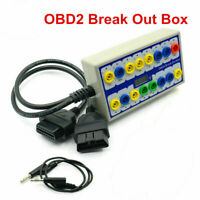 2020 High Quality 16 Pin OBD-II Protocol Detector and Break out Box Tester F2