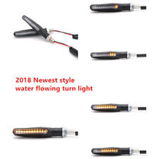 2x Motorcycle LED Turn Signal Lamp Sequential Flowing Indicator Light Cafe Racer