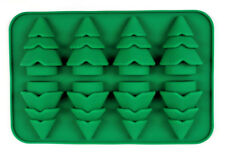 "Christmas Silicone Chocolate, Candy, Melts ""8 Christmas Tree Shape cavity mould"