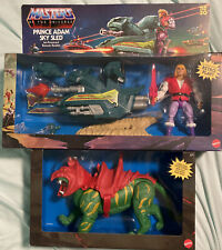 He-Man Masters Of The Universe MOTU Origins Prince Adam Sky Sled & Battle Cat