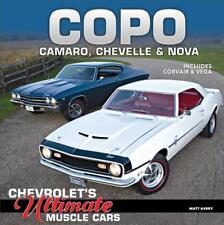 COPO Camaro, Chevelle & Nova Book~Chevrolet Muscle Cars~Corvair~Vega~NEW 2018 HC