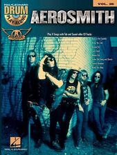 Aerosmith Drum Play-Along Book and CD NEW 000701887