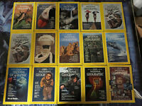 NATIONAL GEOGRAPHIC MAGAZINE Lot #2 - 35 backissues 1979-1993