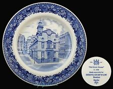 SPODE SHREVE CRUMP AND LOW OLD STATE HOUSE PLATE