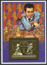 Comores Comoros Championnat Echecs Chess Schach ** 1990 Or Gold Inconnu Unknowed