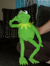 KERMIT THE FROG FULL HAND PUPPET WITH wired Hands , Ventriloquist puppet