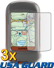 3x Garmin Dakota 20 10 Handheld GPS Navigator Clear LCD Screen Protector Guard