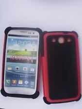 Etui Housse Coque très belle,qualité Design Galaxy i9300 S3 (SIII) Rouge/Noir