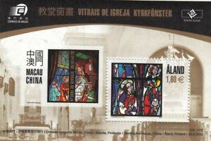 Aland Church Interior Religion Sheet Aland Finland Mint MNH Miniature Sheet 2010