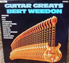 * Guitar Greats-Bert Weedon-Rare vinyl record [ND]