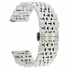 Gear S3 Bands, TRUMiRR 22mm Solid Quick Release Watch Metal Stainless Steel For