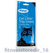 Armitage Cat Litter Medium Tray 46x38cm Liners 6-Pack Hygienic Pet Disposal Bag