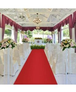 100ft RED wedding aisle runner for many different occasions