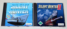 2 PC Giochi Set-SILENT HUNTER 1 & 2 I II-U BOOT simulazione