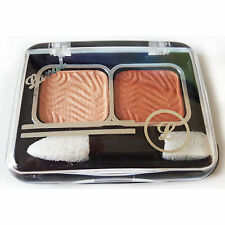 Laval Mixed Doubles Duo Eyeshadow Eye Shadow Palette - Peach Mist