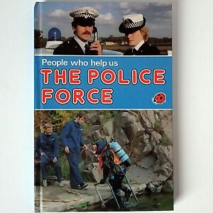 Ladybird - People Who Help Us: The Police Force (Vintage, 1982) First Edition