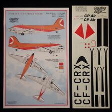 1/72 C-47 - DC3 CP Air Orange scheme decal set by Leading Edge Models