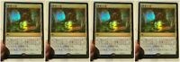4 Foil Prerelease Promo Chinese Fabled Passage Throne of Eldraine Magic MTG MINT