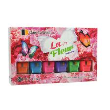 LeChat Nail Polish Lacquer La Fleur Collection Mini kit - 6 x 0.25oz