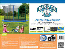 Trampoline 12 Foot Combo 3.66 Mtr with Safety Net & Upright Poles + Spring Cover